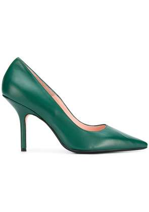 Anna F. pointed toe pumps - Green