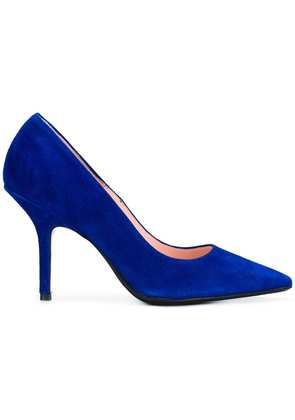 Anna F. pointed toe pumps - Blue