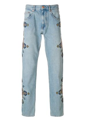 Isabel Marant Jasper denim trousers - Blue