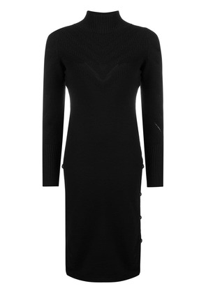 Barrie turtle neck dress - Black