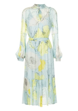 GINGER & SMART floral pleated dress - Multicolour