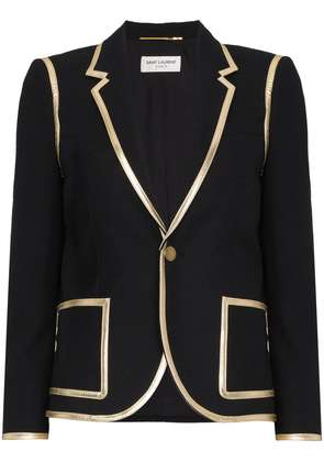 Saint Laurent classic fitted blazer - Black