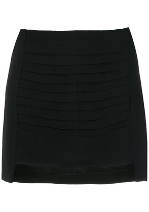 Andrea Bogosian pleated details skirt - Black