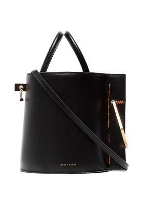 Danse Lente Bobbi Leather Bucket Bag - Black