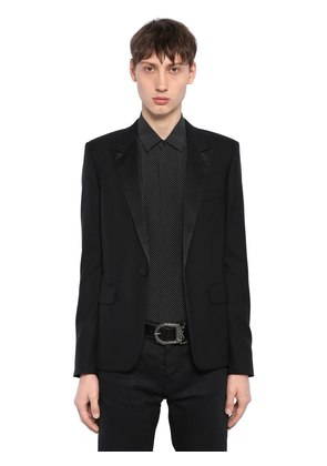 SMOKING VIRGIN WOOL JACKET