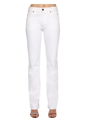 MID RISE COTTON DENIM JEANS