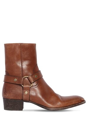 40MM WYATT VINTAGE LEATHER BOOTS