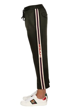 JAPANESE ACETATE JOGGING PANTS