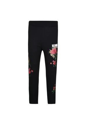 BILLIONAIRE BOYS CLUB Embroidered Floral Jogging Bottoms