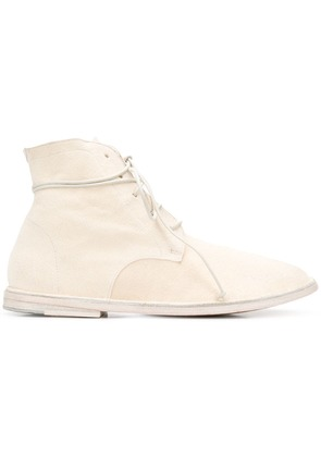 Marsèll wraparound lace ankle boots - White