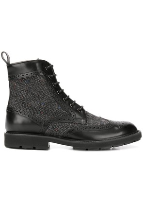 Tod's ankle lace-up boots - Black