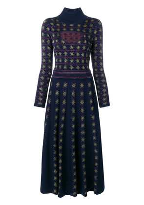 Temperley London Night knitted dress - Blue