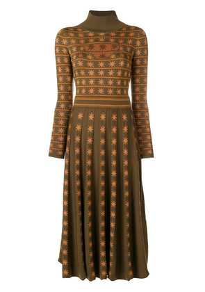 Temperley London Night knitted dress - Green