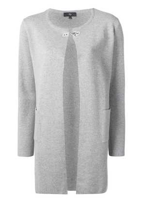 Fay hook fastening cardigan - Grey