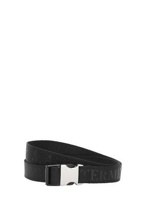 35MM LOGO JACQUARD WEBBING BELT