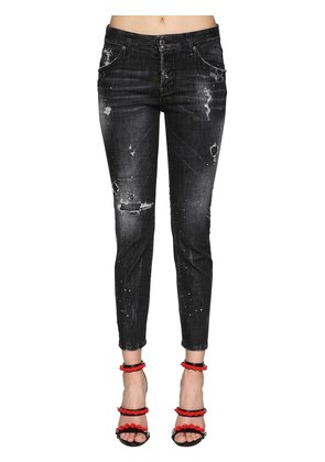 COOL GIRL COTTON DENIM JEANS