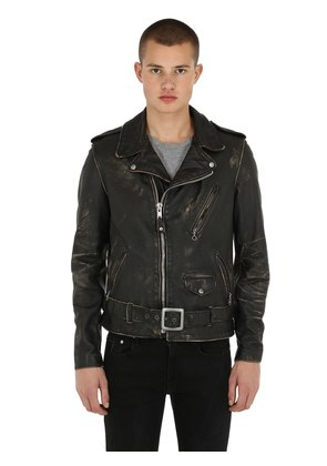 PERFECTO VINTAGE LEATHER BIKER JACKET