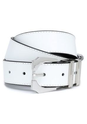 Versus Versace Woman Leather Belt White Size 65