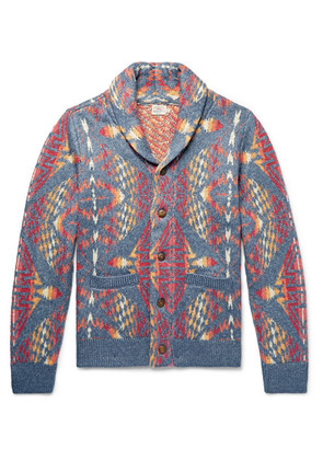 Faherty - Shawl-collar Cotton-blend Cardigan - Multi