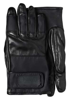 Prada Nylon and Leather Gloves - Black