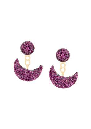 Apm half moon earrings - Gold