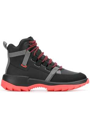 Camper Lab contrast sole boots - Black