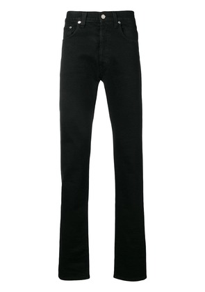 Helmut Lang straight-cut jeans - Black