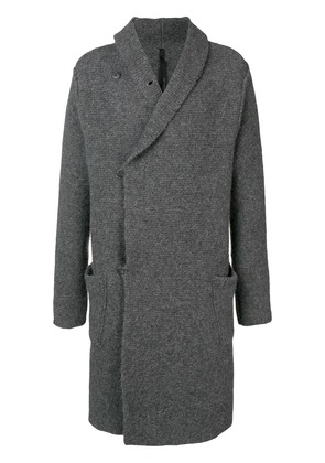 Poème Bohémien long cardi-coat - Grey