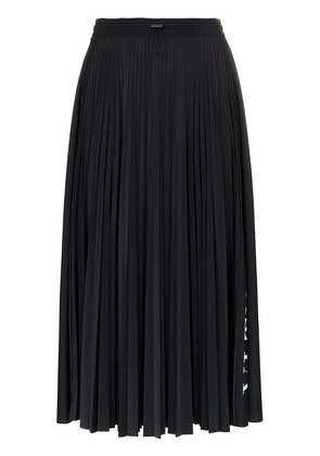 Valentino VLTN pleated midi skirt - Black