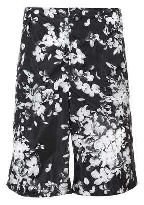 Givenchy floral fitted shorts - Black
