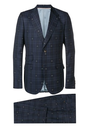 Gucci Monaco Bees two-piece suit - Blue