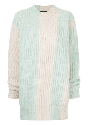 Calvin Klein 205W39nyc oversized knitted sweater - Pink