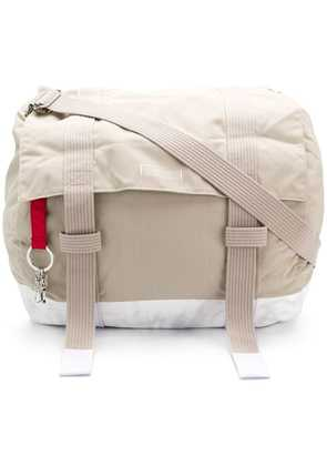 Eastpak distressed holdall - Neutrals
