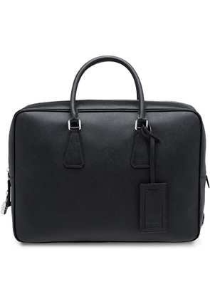 Prada Leather Briefcase - Black
