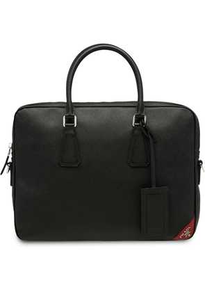 Prada logo briefcase - Black