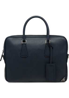 Prada Leather briefcase - Blue
