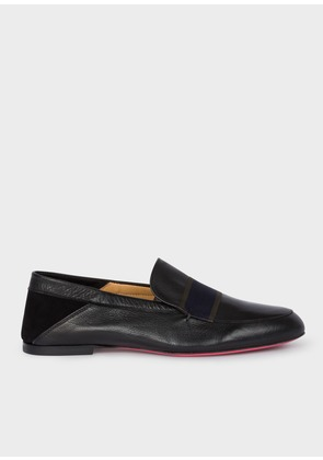 Women's Black Leather 'Freda' Loafers
