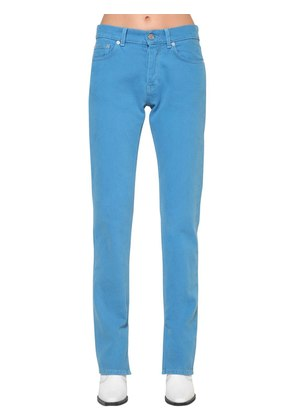 SHELDON SLIM FIT COTTON DENIM JEANS
