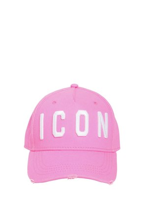ICON COTTON GABARDINE BASEBALL HAT