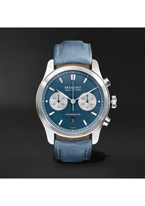 Zurich Chronograph 42mm Dlc-coated Stainless Steel And Kevlar Watch
