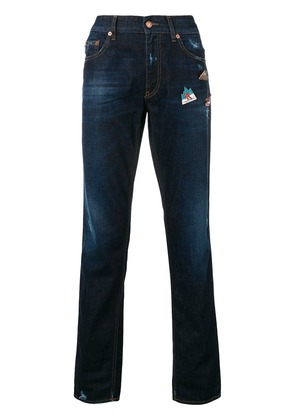Love Moschino slim faded jeans - Blue