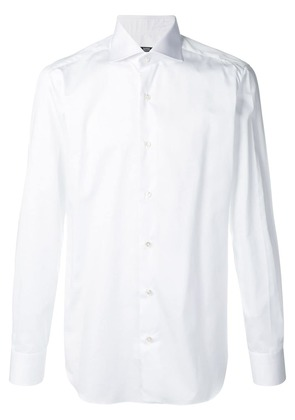 Barba plain shirt - White