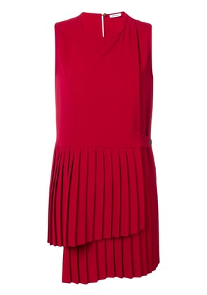 P.A.R.O.S.H. sleeveless pleated top - Red
