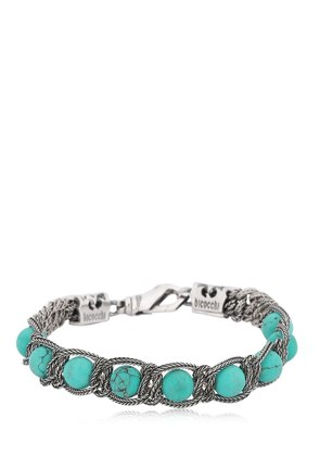 TURQUOISE SILVER STERLING BRACELET
