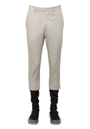 RIPSTOP COTTON CROPPED PANTS
