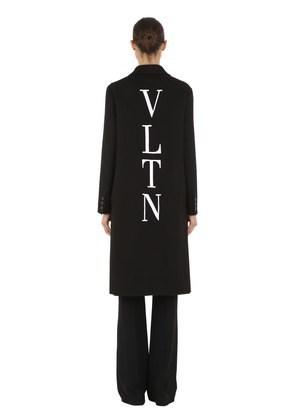 VLTN WOOL & CASHMERE CLOTH COAT