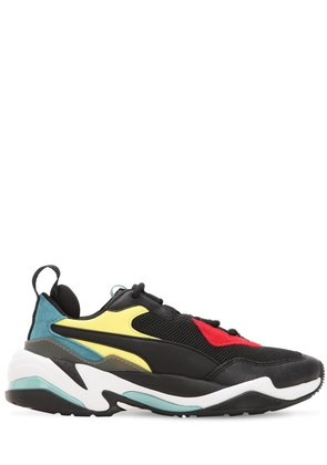 THUNDER SPECTRA LEATHER & MESH SNEAKERS