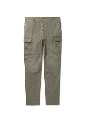 Stretch-cotton Cargo Trousers