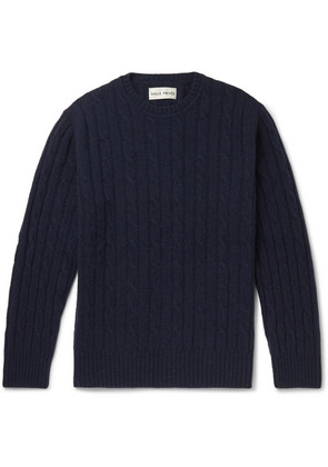 Rem Cable-knit Wool Sweater
