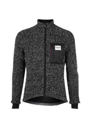 Cafe du Cycliste - Simone Fleece Cycling Jacket - Black